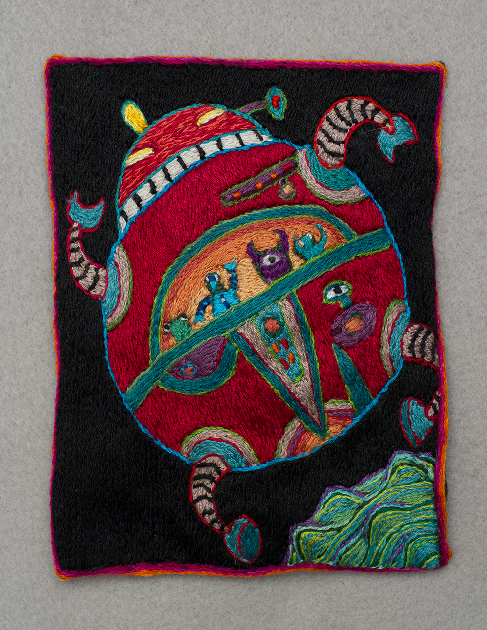 The World Tarot Card Art