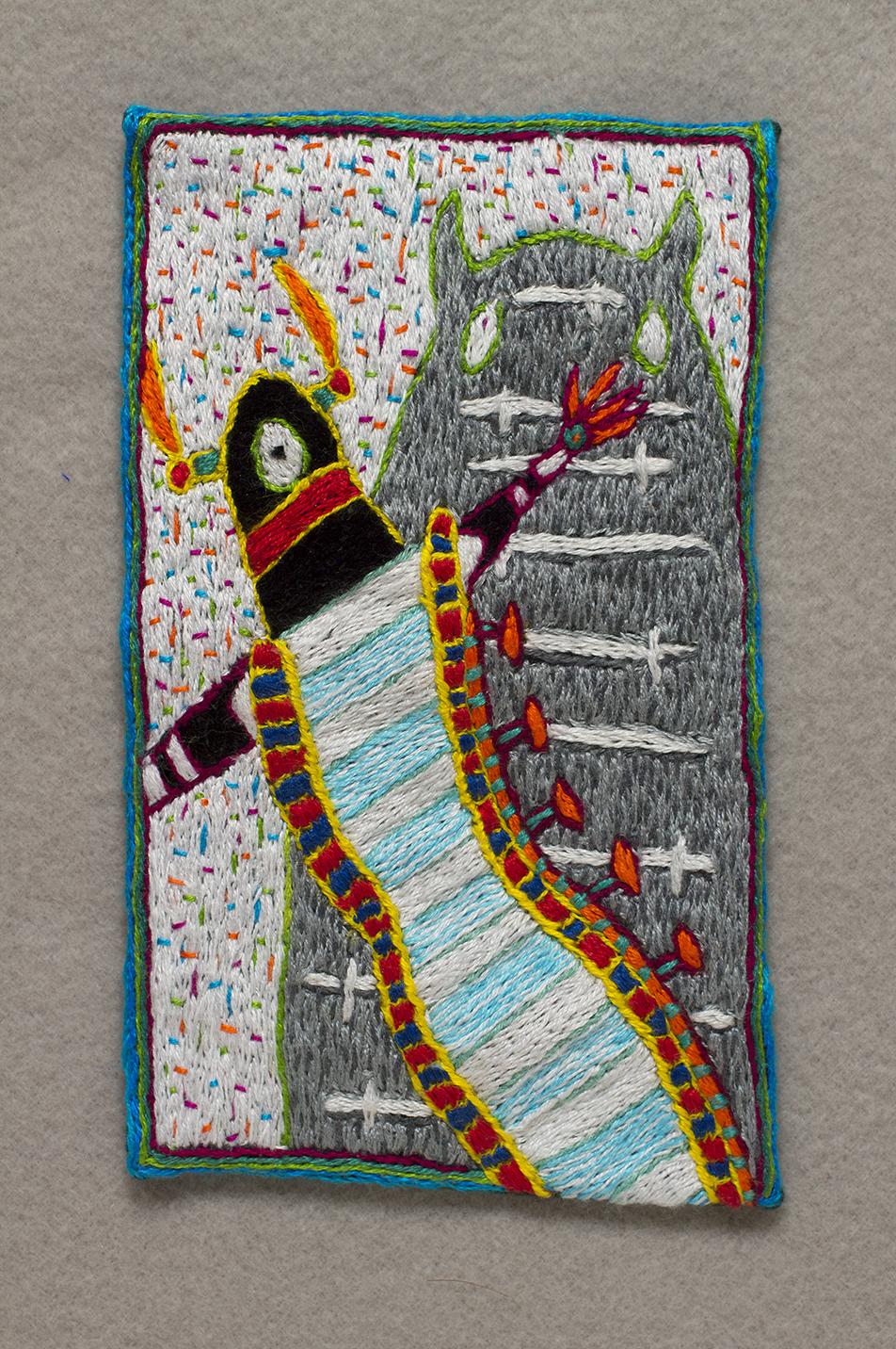 9 of Swords Tarot Art